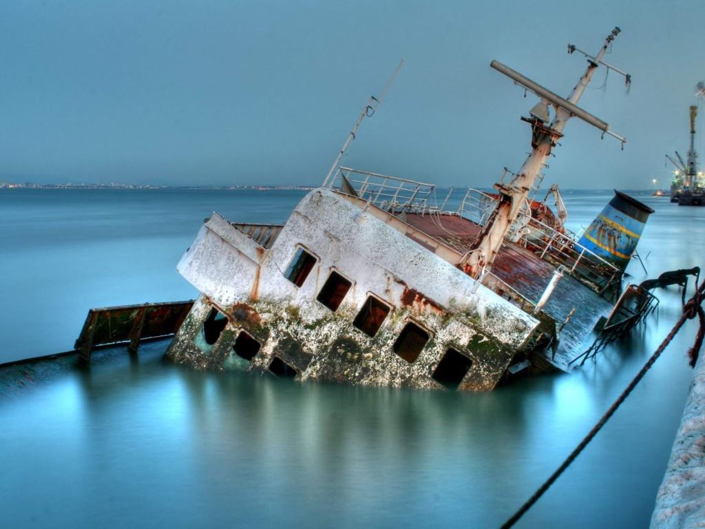 001 lodě - lodní vrak