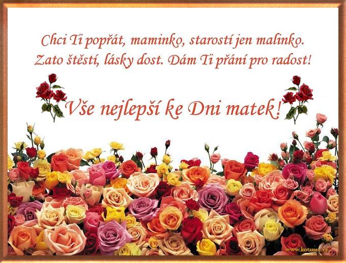 001 přání Den matek