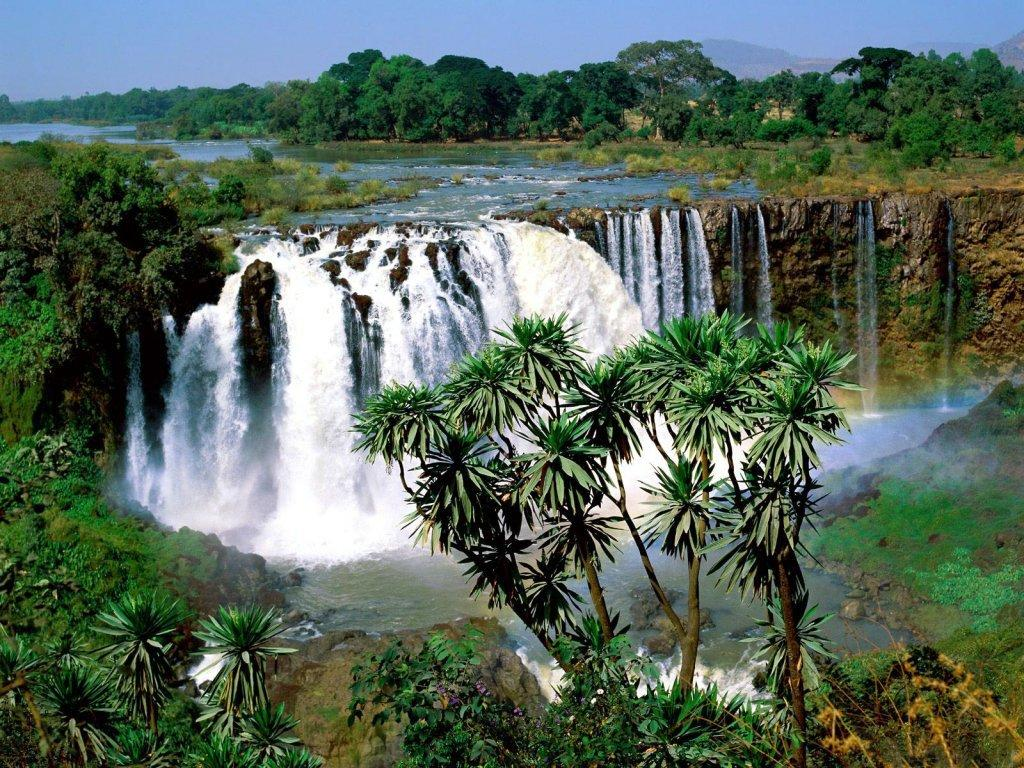 001 vodopády - waterfalls - příroda - nature