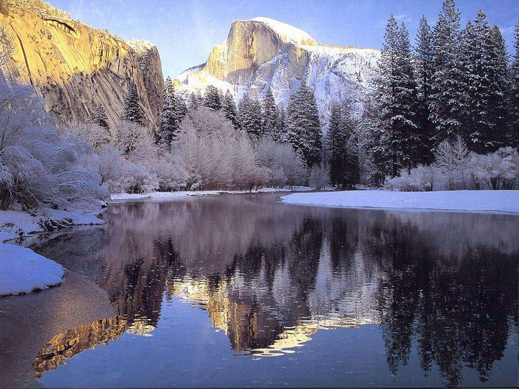 001zimní krajina - winter landscape