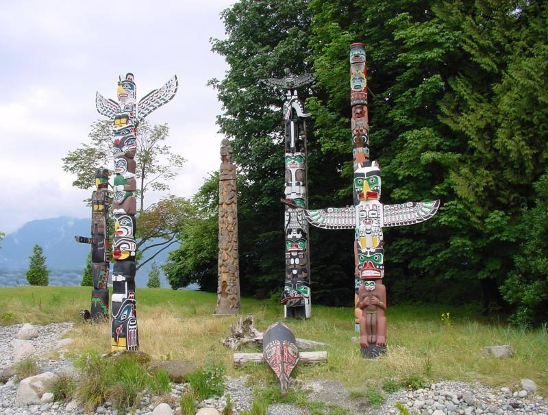 002 indiánské motivy obrázky totem - Indián
