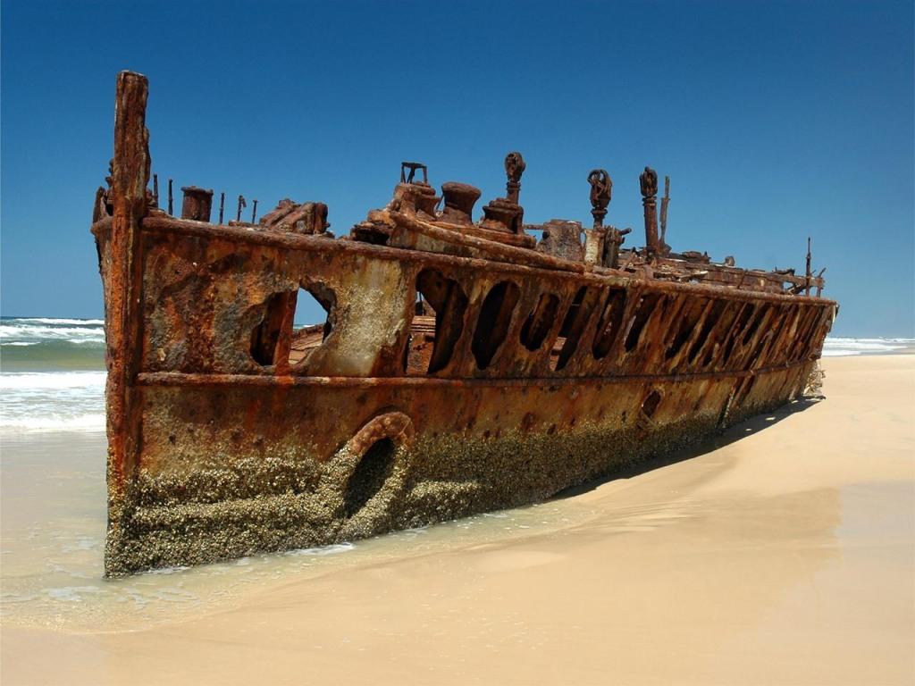 002 lodě - lodní vrak