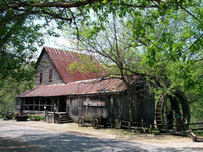 002 staré chalupy - farmy - mlýny