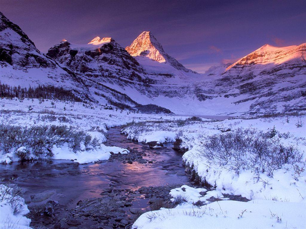 002 zimní krajina - winter landscape