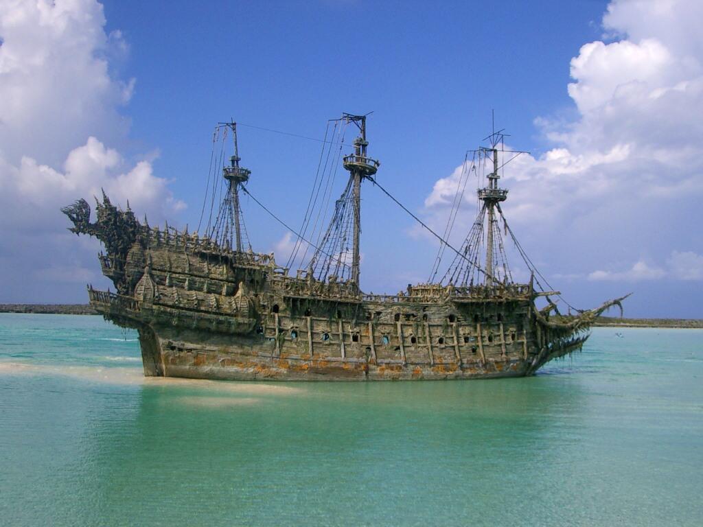003 lodě - lodní vrak