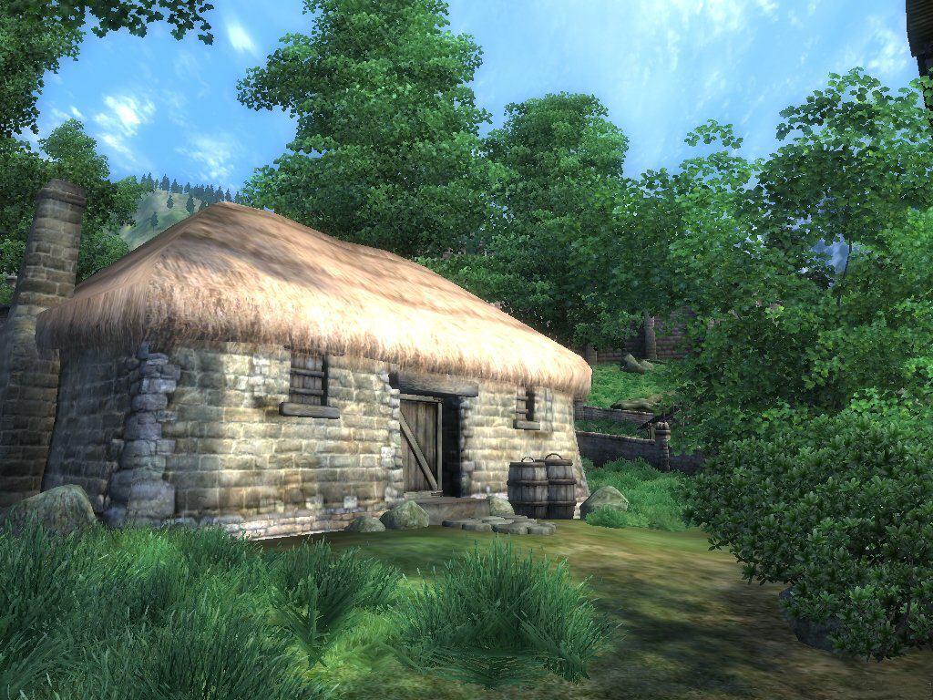 003 staré chalupy - farmy - mlýny