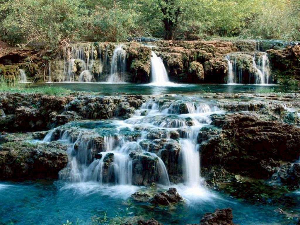 003 vodopády - waterfalls - příroda - nature