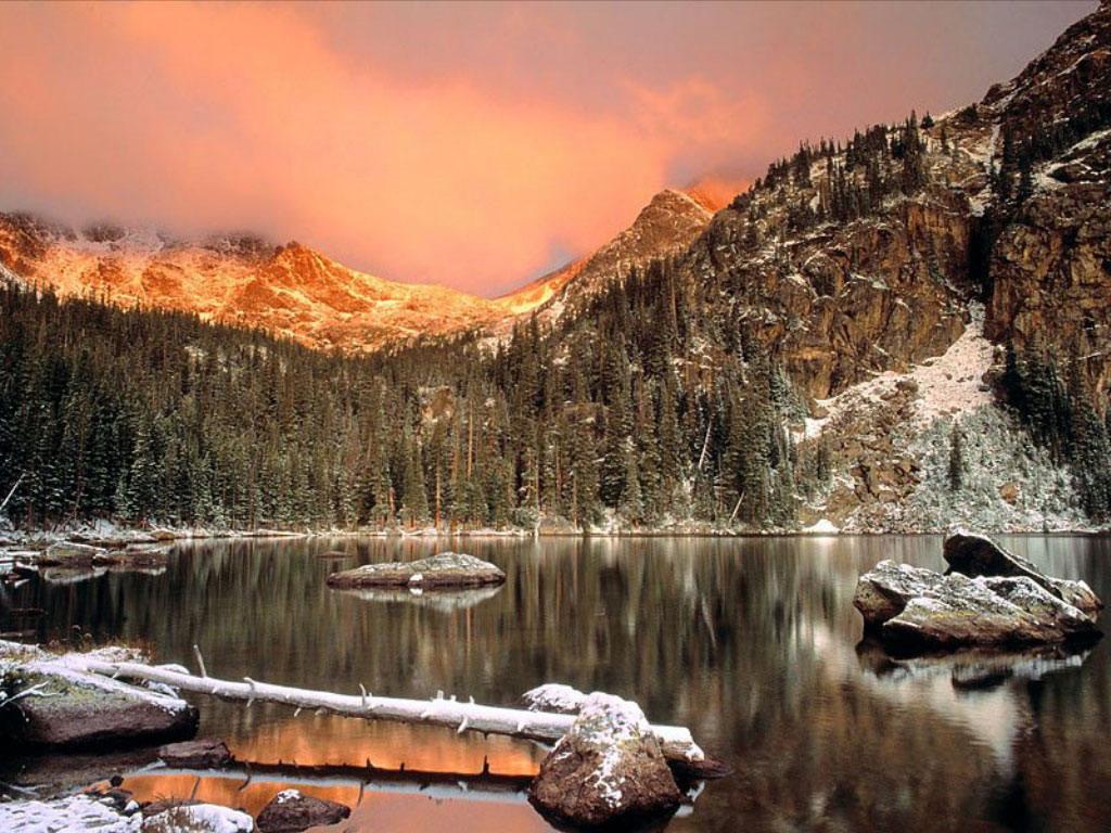003 zimní krajina - winter landscape