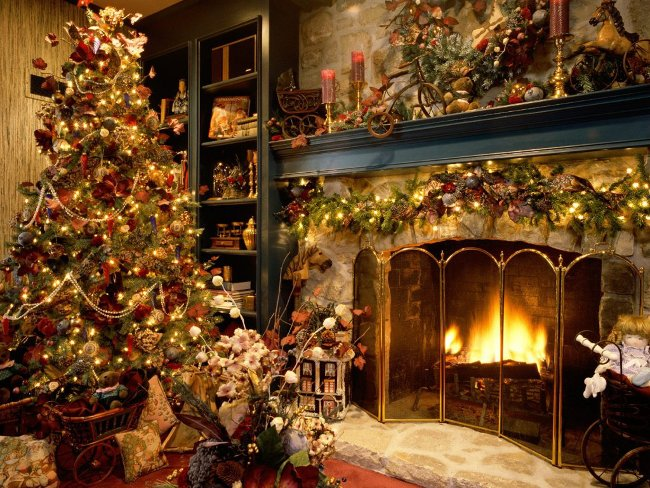004 Vánoční pohledy pohlednice Christmas