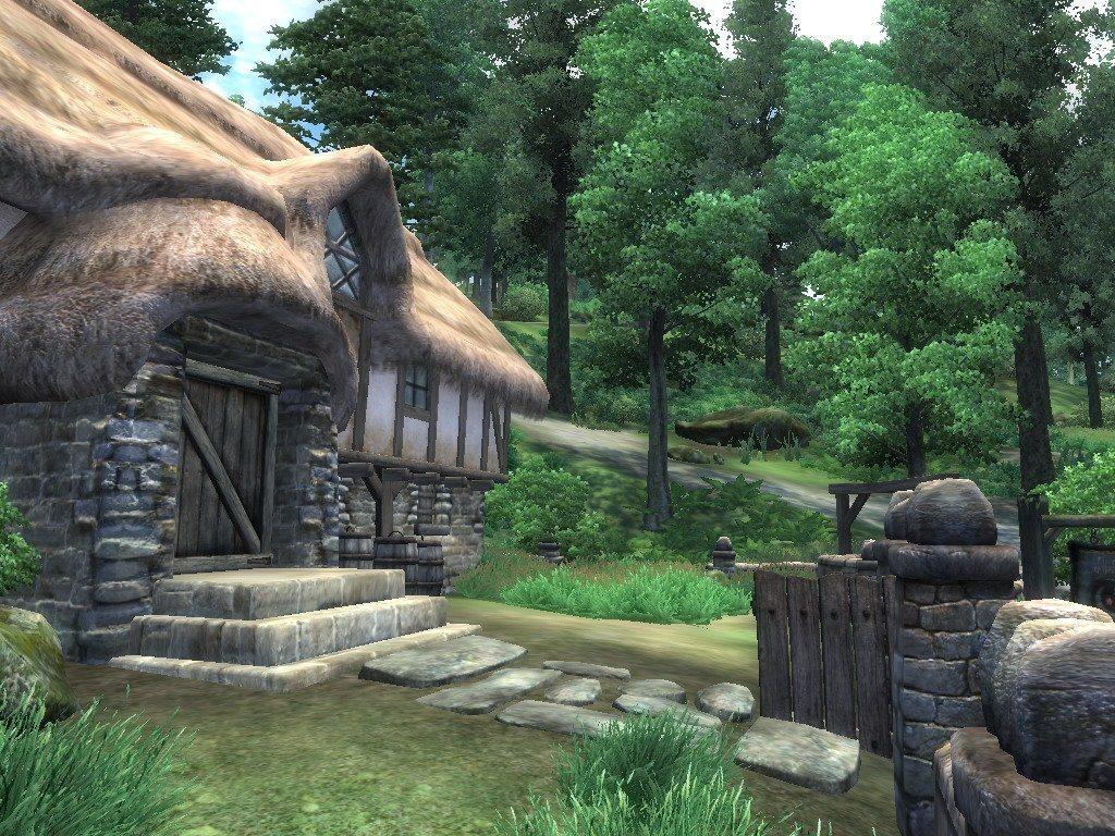 004 staré chalupy - farmy - mlýny
