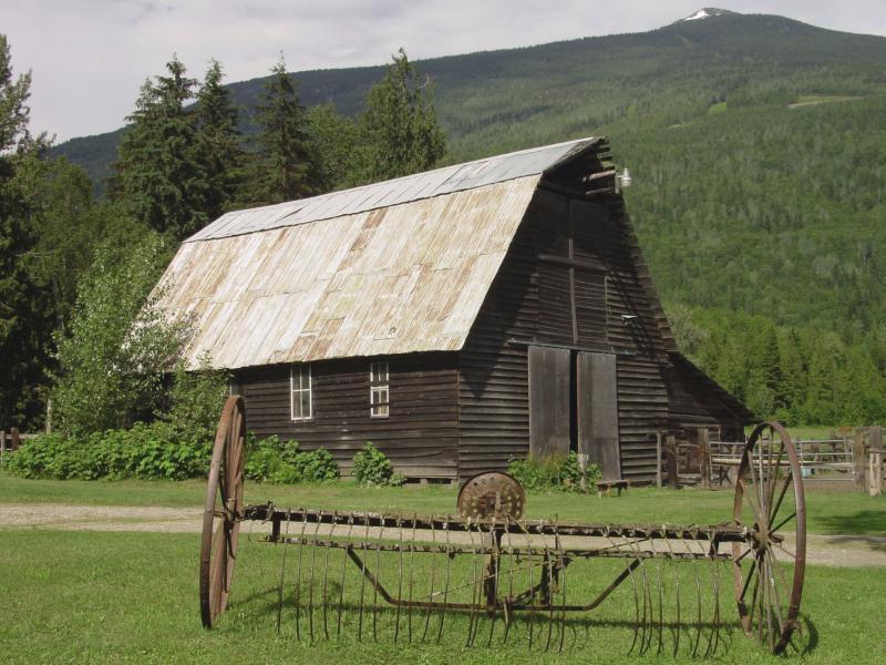 005 staré chalupy - farmy - mlýny