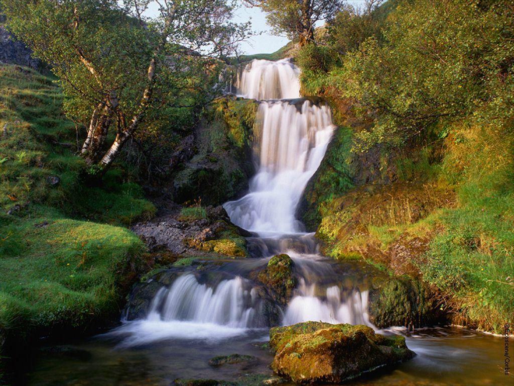 005 vodopády - waterfalls - příroda - nature
