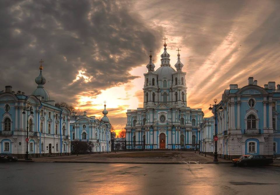 006 St.Petersbourg - Smolny Cathedral - Russia