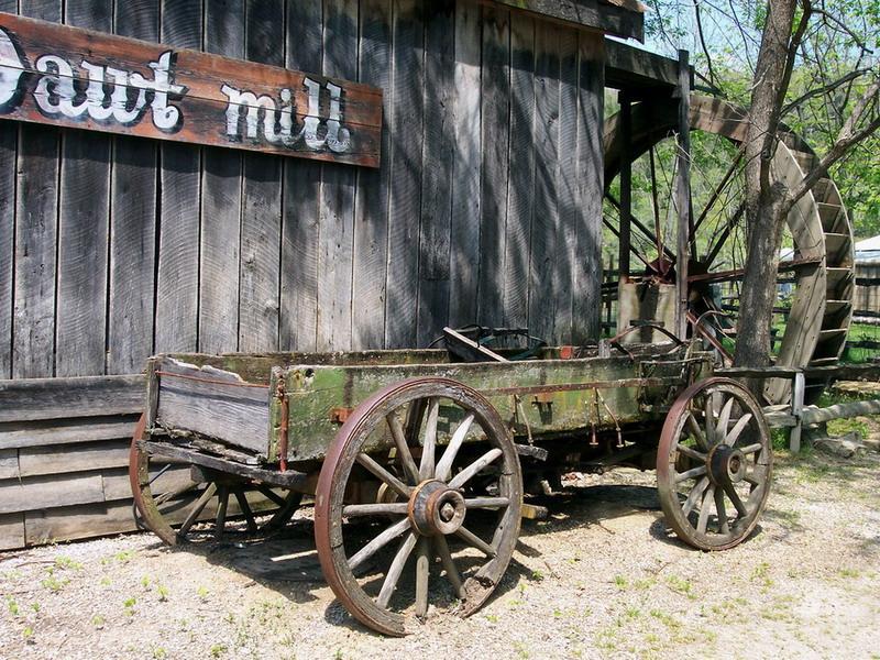 006 staré chalupy - farmy - mlýny