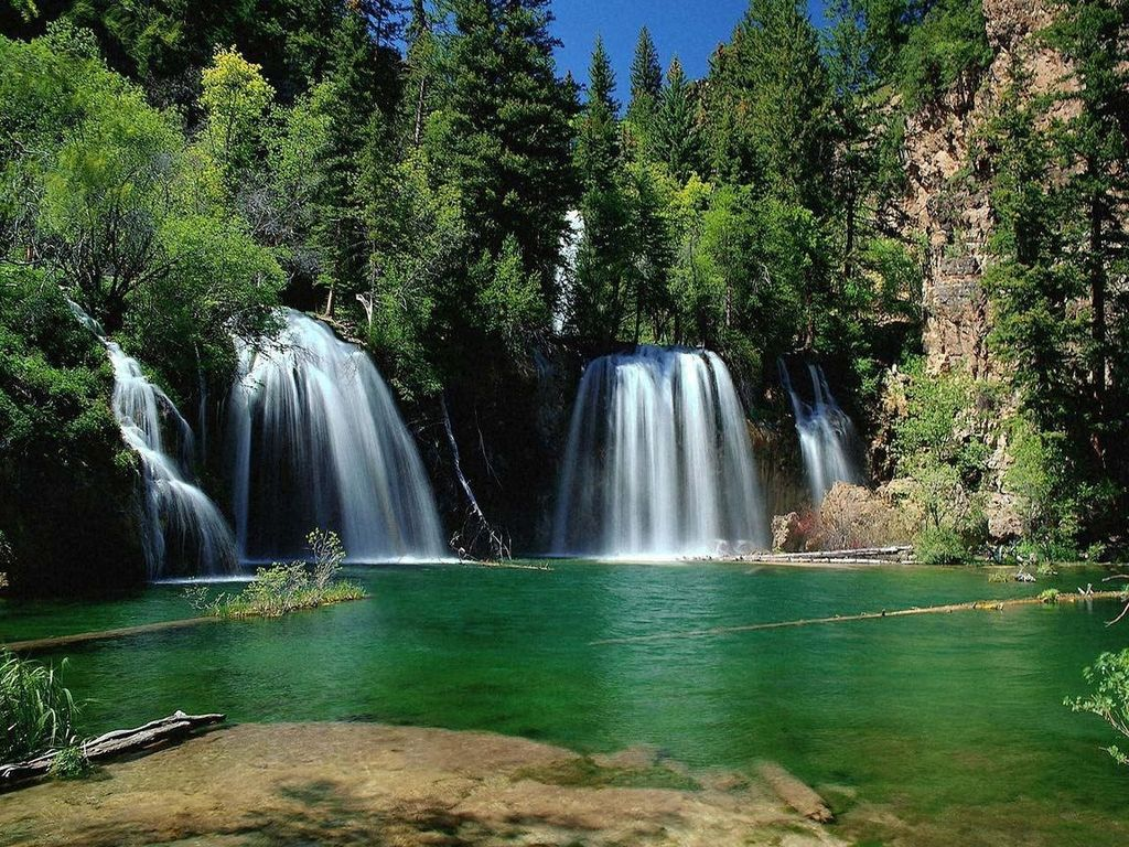 006 vodopády - waterfalls - příroda - nature