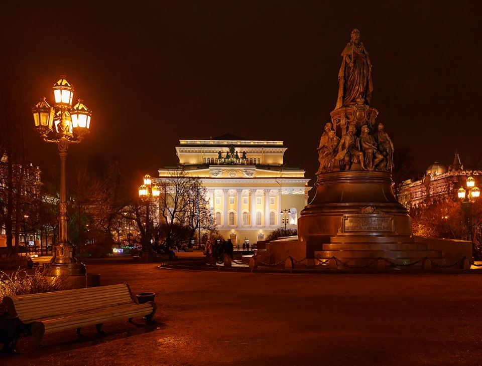 007 St.Petersbourg - Alexandrinsky Theater - RF