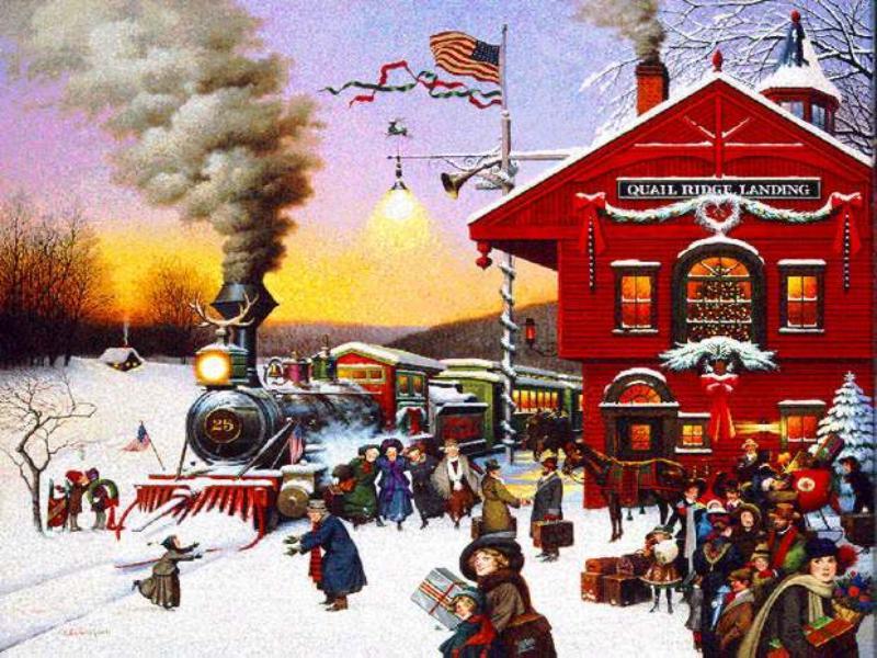 007 vlaky - nádraží