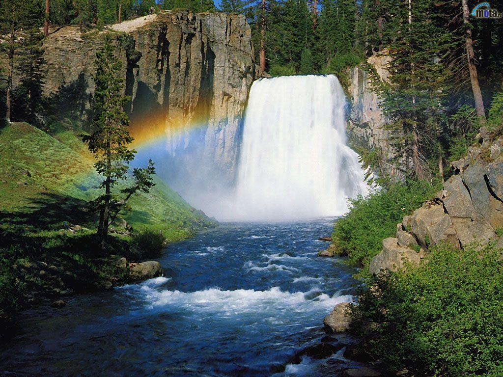 008 vodopády - waterfalls - příroda - nature