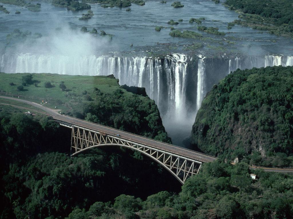 009 vodopády - waterfalls - příroda - nature