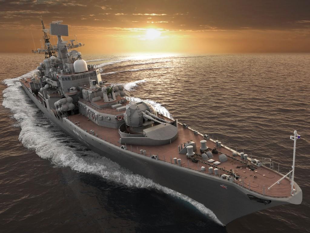 011 lodě - torpédoborec