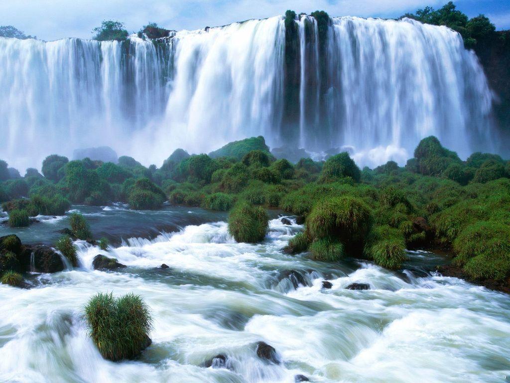 012 vodopády - waterfalls - příroda - nature