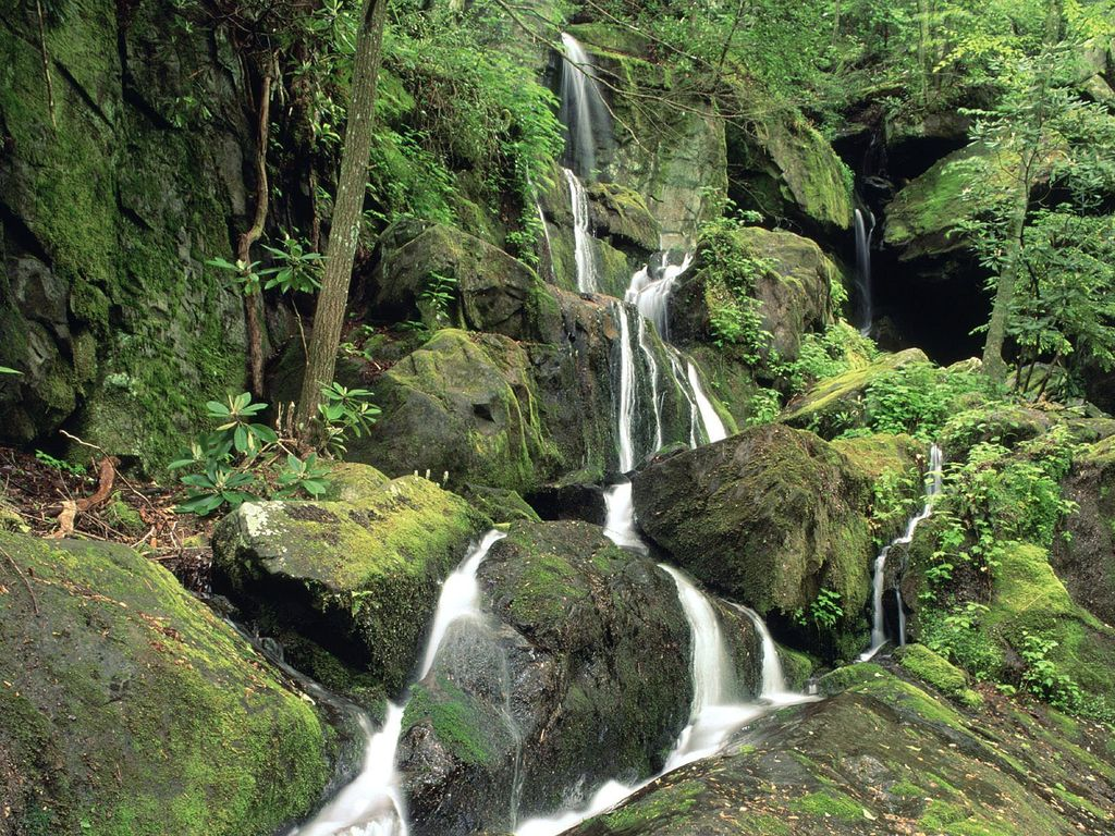 013 vodopády - waterfalls - příroda - nature
