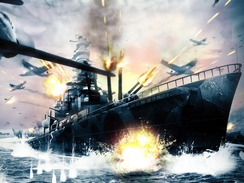 014 lodě - bitevní loď