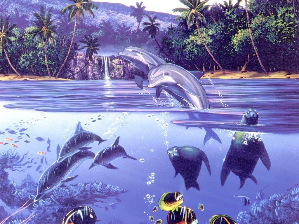 014 ryby - delfíni