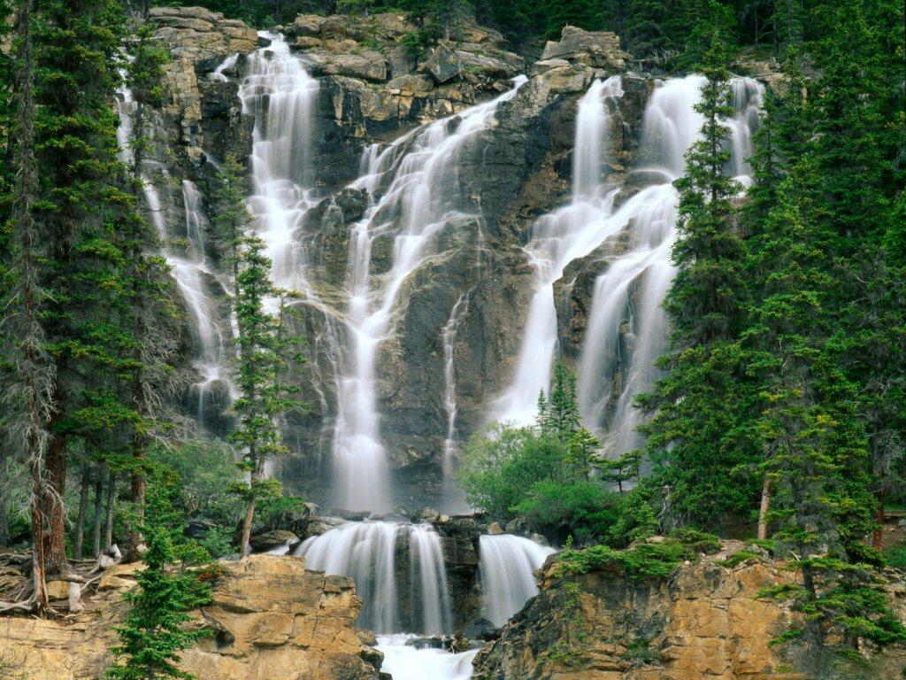 014 vodopády - waterfalls - příroda - nature
