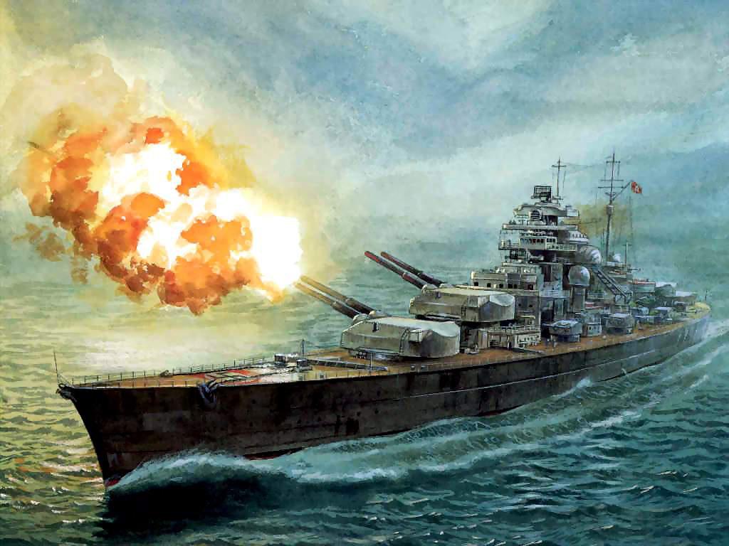 015 lodě - bitevní loď