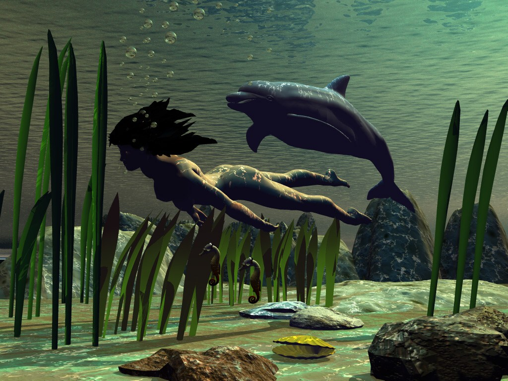 015 ryby - delfín