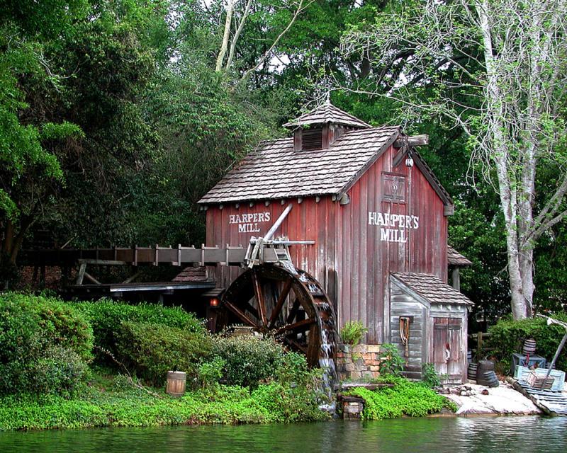 016 staré chalupy - farmy - mlýny