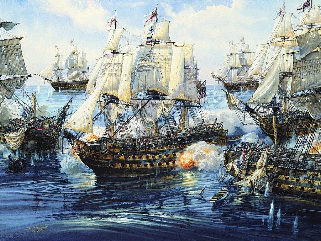 017 lodě - koráby bitva