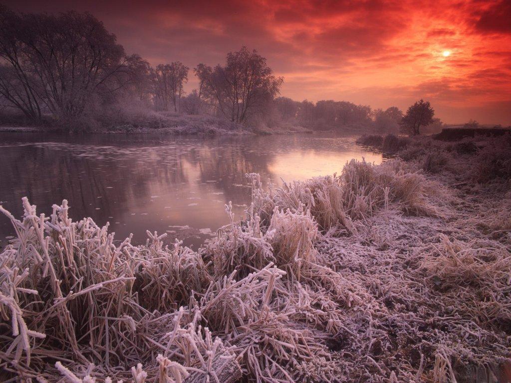 017 zimní krajina - winter landscape
