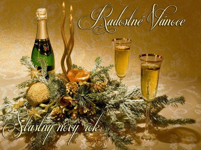 018 Vánoční pohledy pohlednice Christmas
