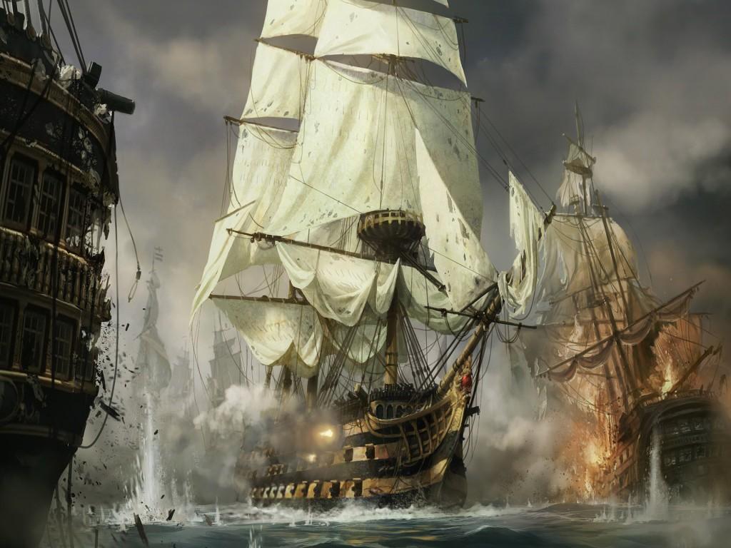 018 lodě - koráby bitva