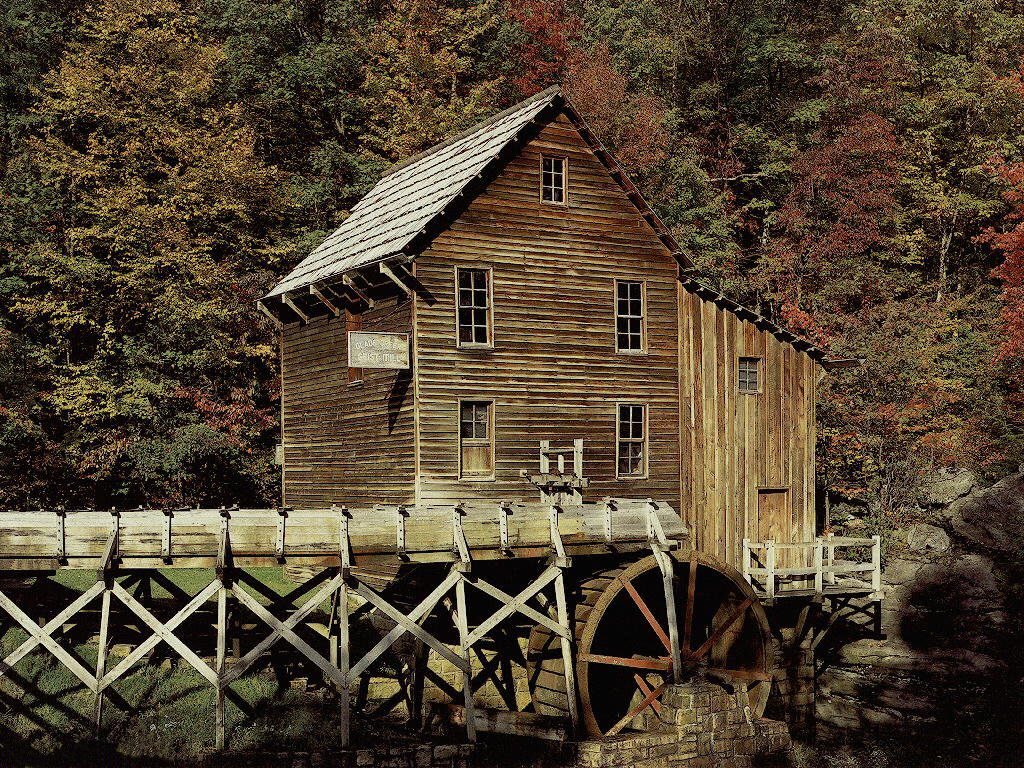 019 staré chalupy - farmy - mlýny