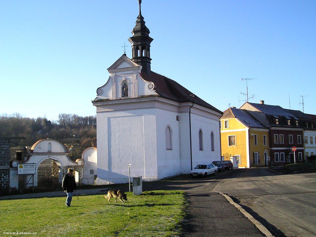 020 Kadaň Kostel Stětí sv.Jana Křtitele