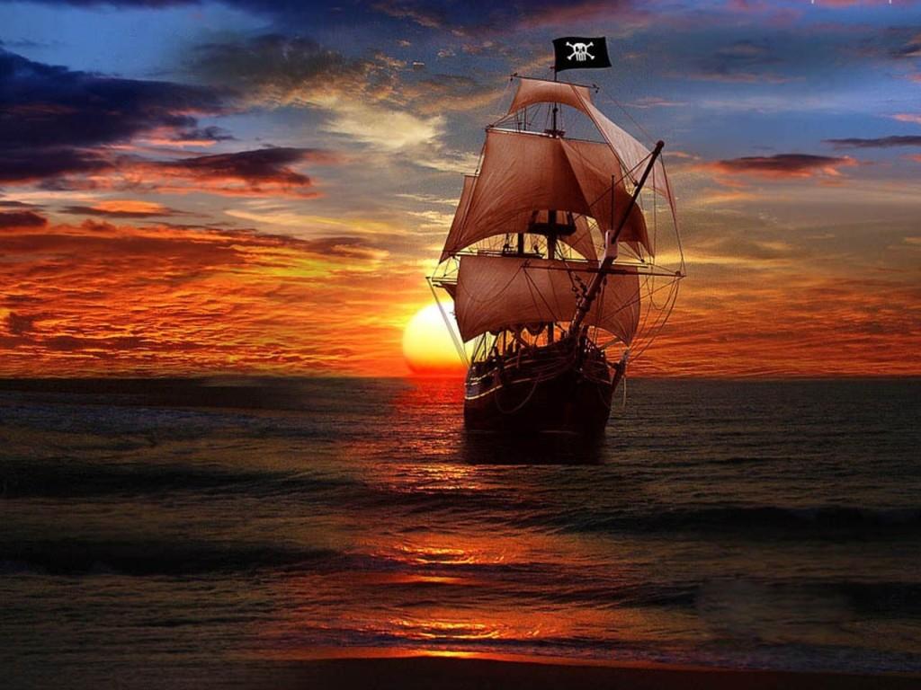 020 lodě - pirátská fregata