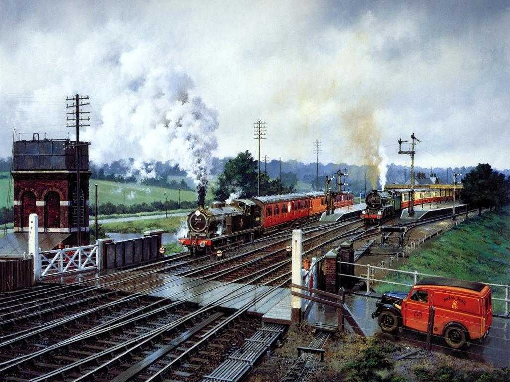 020 vlaky - nádraží