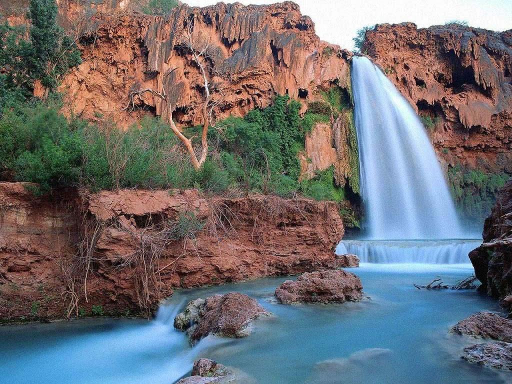 020 vodopády - waterfalls - příroda - nature