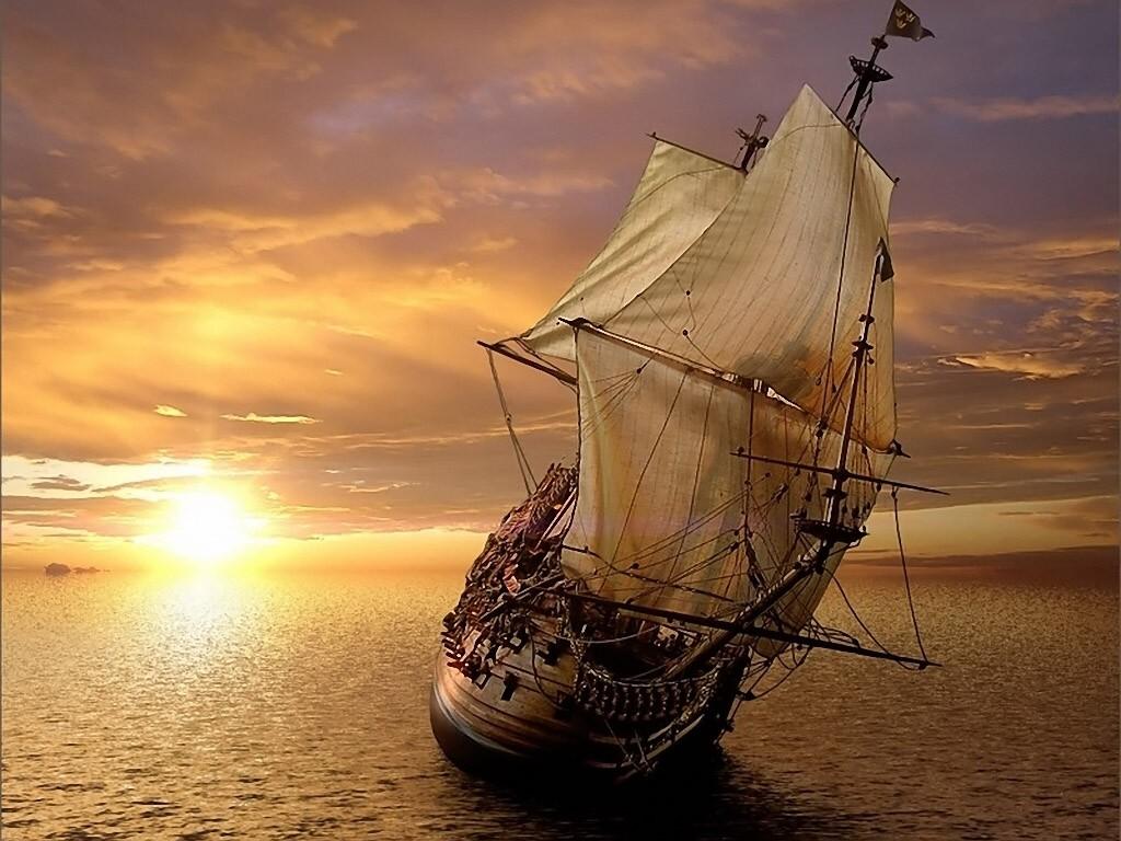 021 lodě - pirátská fregata