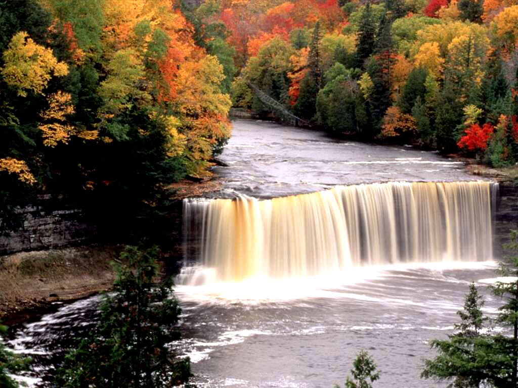 021 vodopády - waterfalls - příroda - nature