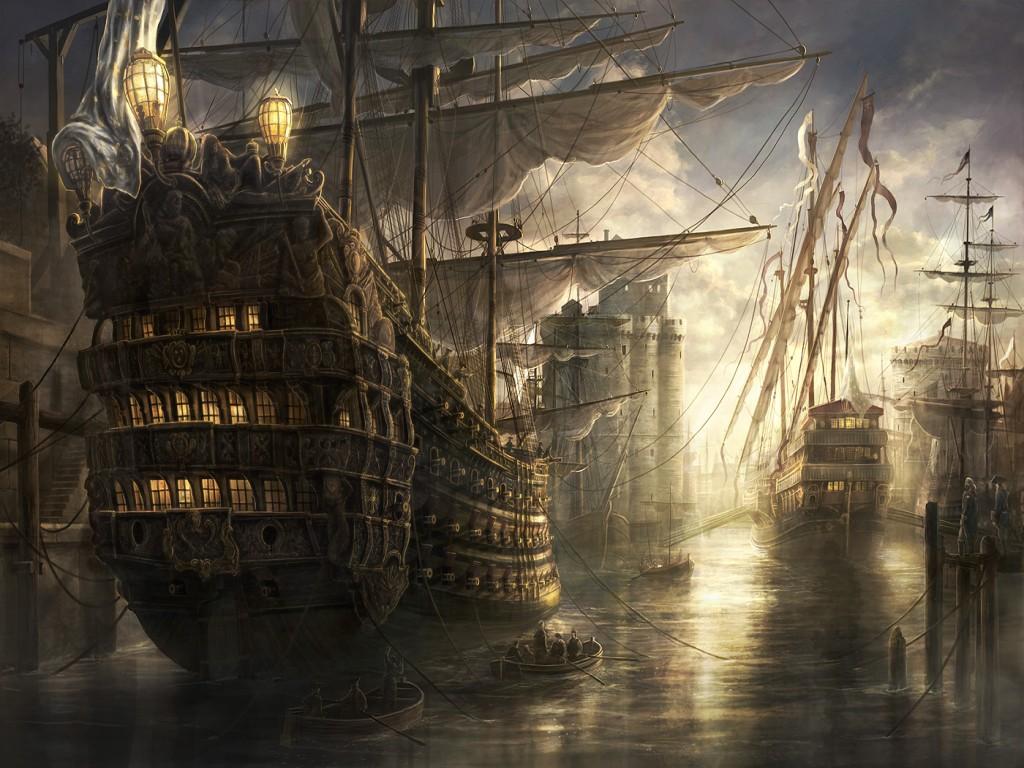 022 lodě - koráby