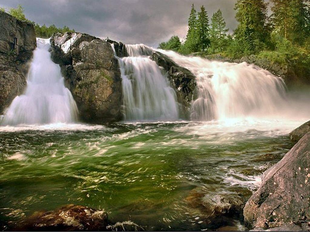 022 vodopády - waterfalls - příroda - nature