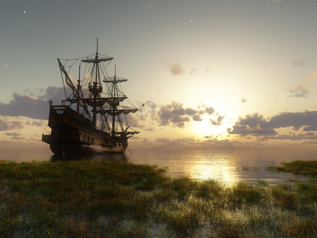 023 lodě - koráby