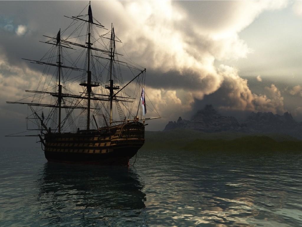 024 lodě - koráby