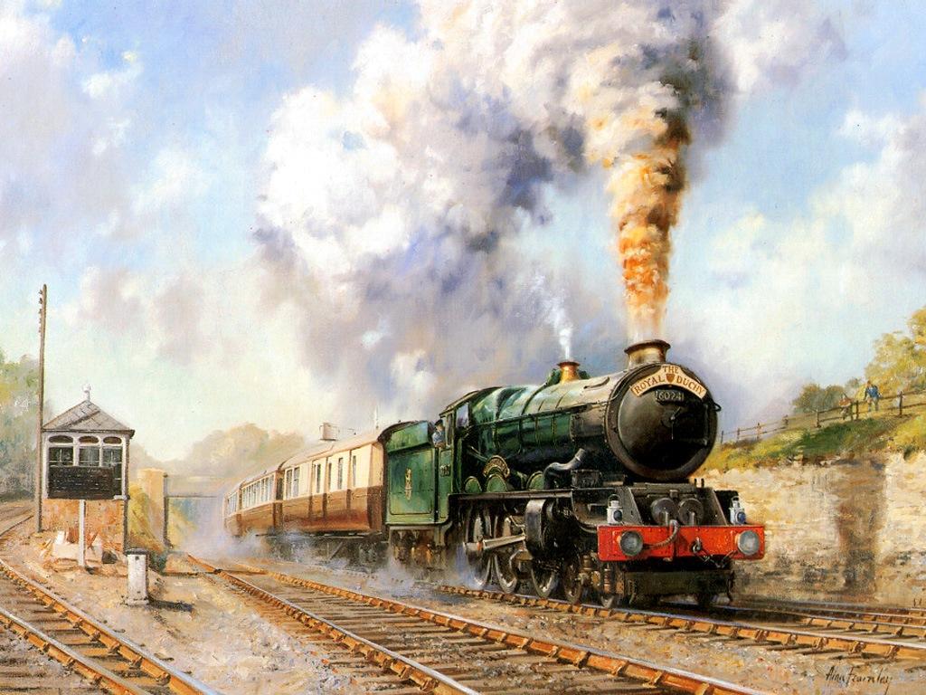 024 vlaky - nádraží