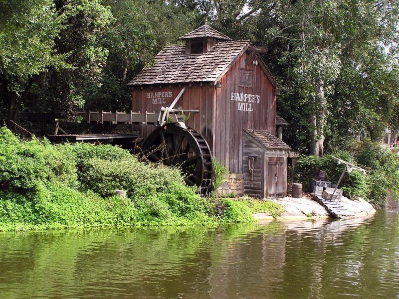 025 staré chalupy - farmy - mlýny