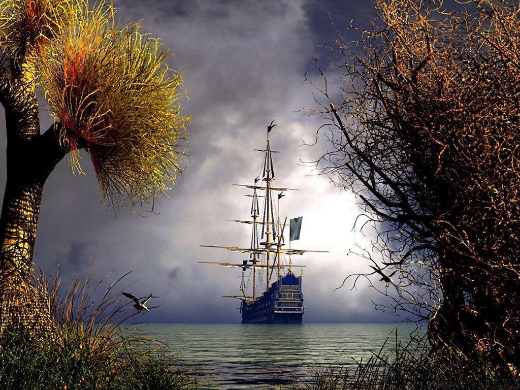 027 lodě - koráby